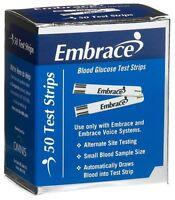 Embrace Blood Glucose Test Strips, 50ct (50 Test Strips)