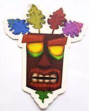 Aku Aku Pin - Crash Bandicot Vinyl Sticker