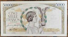 Billet 5000 francs VICTOIRE 4 - 12 - 1941 France C.778