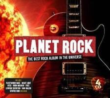 PLANET ROCK 4 CD SET Various Artists (Released November 9th 2018)