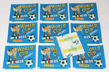 PANINI WORLD CUP STORY 90 1990 - 10 pochettes packets bustine sobres Pochettes
