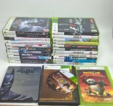 XBOX 360 Bundle of 24 Games Incl Batman, Skyrim, Minecraft, GTA, F1, PGA #590