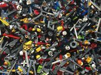 Genuine LEGO Technic 1kg-1000g Job Lot Mixed Bundle Beams Lift Arm Cog Pins