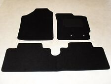 Toyota Yaris 2011-on Fully Tailored Deluxe Car Mats in Black