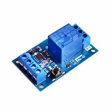 Modulo relè bistabile 12V 1 canale carico 10A AC 220V con pulsante autobloccante