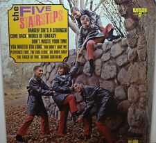 "FIVE STAIRSTEPS~ ""S / T""~""EX/VG+""~ MONO 1967 U.S.ORIG.WC-6000 1st PRESS~LP!!!"