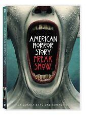 AMERICAN HORROR STORY - STAGIONE 4 - 4 DVD - COFANETTO NUOVO, ITALIANO, SIGILLAT