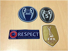 FC Barcelona UEFA CHAMPIONS LEAGUE 2015 SET Soccer patch BADGE patch 5 TROPHY
