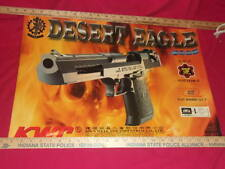 "KWC Desert Eagle Airsoft Poster  23.5"" x 16.5"" Gas Soft Air Gun IMI Kein Well"