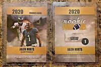 Jalen Hurts, Philadelphia Eagles Limited Edition 2020 Rookie Card. Only 2K Made