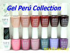 OPI GelColor PERU Collection Perú- Set of 12 Colors & ProHealth Base Top Coat