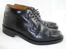 BLAZER BY LOAKE USED MEN'S UK 9/~US 10 BLACK LEATHER SHOES/ANKLE BOOTS/CHUKKA