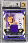 Kobe Bryant 04-05 UD SP Game Used Jersey OnCard Auto #043/100 BGS9 MINT AU10
