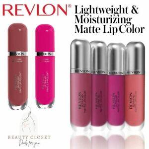 Revlon Hyper Matte Intense Ultra HD Lip Mousse Vinyl Lipstick Various Shades NEW