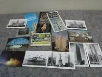Lot of 1964-65 New York World's Fair Items-Postcards-Pictures +