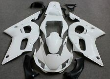 Unpainted Drilled ABS Injection Bodywork Fairing Kit for YAMAHA YZF R6 1998-2002