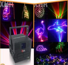 2000mW RGB Full Color ILDA DMX DJ Party stage Laser animation 2W SD card light