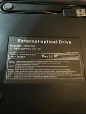 External DVD Optical Drive model:CB31005 power supplied 5V