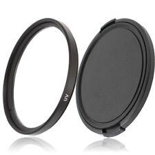 46mm filtro UV protección filtros & objetivamente tapa lens cap para 46mm cámara objetiva