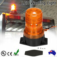 Amber 30 LED Beacon Strobe Emergency Flashing Light Warning Lamp Truck 12V 24V