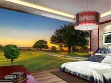 Dusk Under Tree 3D Full Wall Mural Photo Wallpaper Printing Home Kids Decor
