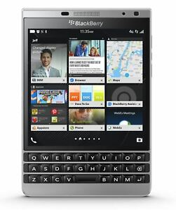 INVENTCASE 100% CRYSTAL CLEAR GEL CASE FOR BLACKBERRY PASSPORT SILVER EDITION