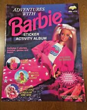 No 26 Mattel Barbie Sticker 1983 Panini