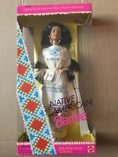 Barbie Doll Barbie Native American Special edition dolls of the World Boîte d'origine jamais ouverte