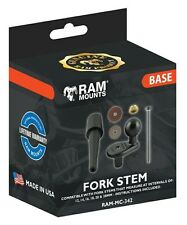 "Official RAM Mounts Motorcycle Yoke Fork Stem Base Mount with 1"" Ball RAM-B-342U"