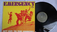 EMERGENCY - Get Out To The Country * Green Brain * Krautrock 1st Press