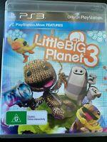 LITTLE BIG PLANET 3 PS3 PLAYSTATION 3 ORIGINAL AUS PAL VERSION LITTLEBIGPLANET 3