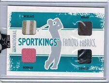 2008 Sportkings BEN HOGAN/PAYNE STEWART/JACK NICKLAUS/NORMAN Golf Bag Shirt 7/9