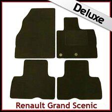 Renault Grand Scenic Mk3 2009-2016 Tailored LUXURY 1300g Car Carpet Mats BLACK