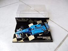 Benetton Renault Sport showcar 2001 Jenson Button B201 #8 Minichamps 1/43 F1