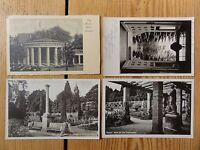 4x POSTKARTE FOTO ANSICHTSKARTE MAINAU BODENSEE 1933 GANZSTÜCK DEUTSCHES REICH !
