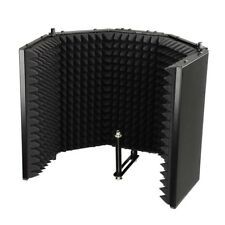 Mic Recording Reflection Filter Studio Home Microphone Foam Isolator Booth VAT