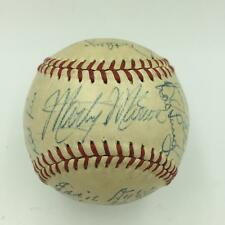 Beautiful 1948 St. Louis Cardinals Team Signed Baseball Stan Musial JSA COA