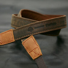 MATIN Camera Leather Neck Shoulder Strap Vintage-20 Brown f/ D-SLR RF Mirrorless