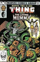 Marvel Two in One Comic 95 Featuring The Thing Mummy Bronze Age First Print 1983