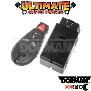 Key Fob / Keyless Remote (5 Button w/Remote Start) for 09-10 Dodge Challenger