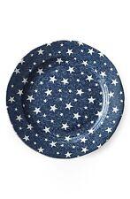 Ralph Lauren 249554 Midnight Sky Earthenware Round Salad Plate Blue set of 4