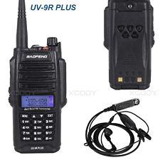 Waterproof Baofeng UV-9R Plus Walkie Talkie Dual Band High Power 10km 128CH UK
