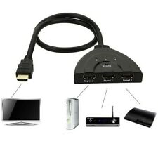 LCD Multi HDMI Cable HDTV 1080p Switch Box PS3 HUB Splitter Switcher Port 3 New