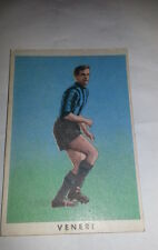 FIGURINA  CARTONATA 1961/  62 - RASA MILANO  - VENERI GIORGIO   - ECCELLENTE