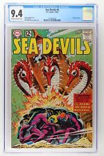 Sea Devils #6 - DC 1962 CGC 9.4 - Grey tone cover! 2nd Highest Grade!