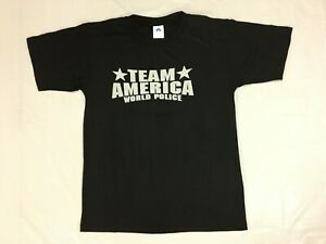 Team America World Police T-Shirt - Paramount Pictures 2005 - Mens - Size Small