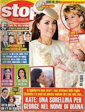 Stop 2014 1.Kate Middleton,Francesca Pascale,Elisabetta Gregoraci,G.Cirilli