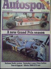 Autosport January 6th 1977 *Rallying Seasonal Survey*
