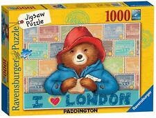 Ravensburger 19696 High Quality Paddington Bear 1000 Pieces Jigsaw Puzzle Game