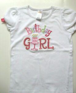 Gymboree 4T Birthday Girl Top T-shirt EUC